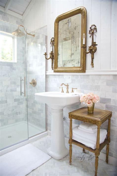Cottage Bathroom Lighting Cottage Bathroom Renovation Reveal Country Cottage Lighting Pinterest