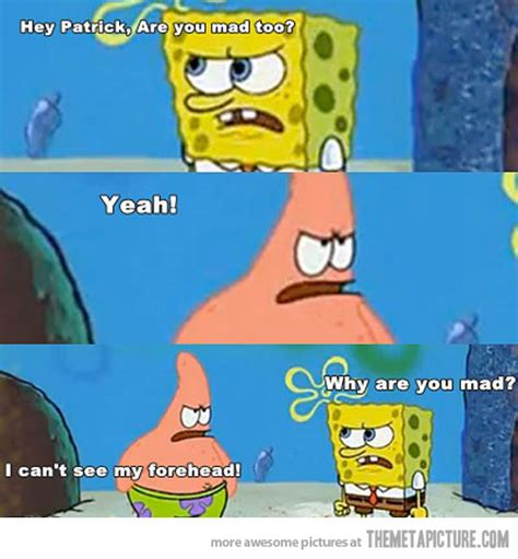Spongebob And Patrick Memes - hey patrick the meta picture