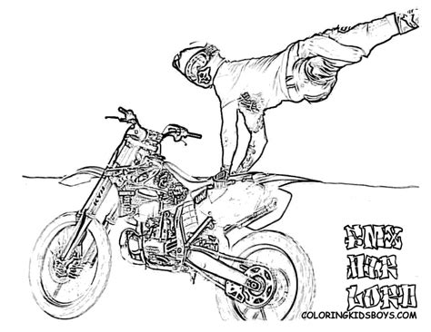 barbie bike coloring page dirt bike coloring pages coloring pages for boys 31