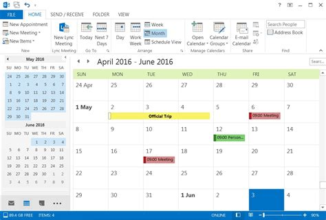 Different Calendars How To Use Different Colors To Present Different Kinds Of