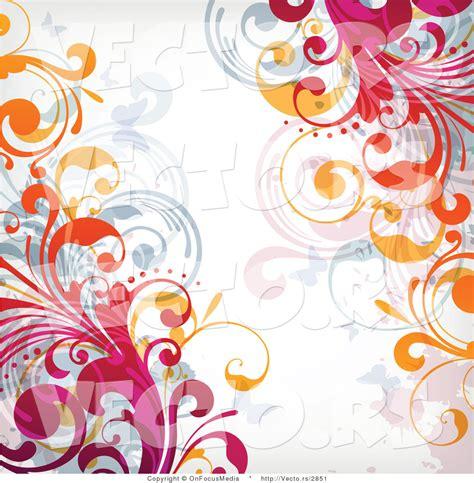 design background wallpaper white vector of flourish vines on top of white background design