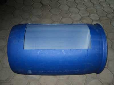 Ukuran Lubang Bak Sortir Lele cara membuat kolam lele dengan tong drum plastik bekas