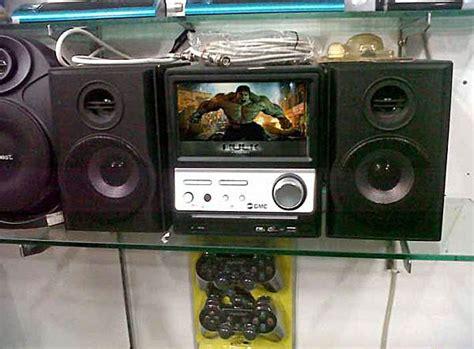 Tv Lcd Gmc kedai wahyu 7 quot lcd tv dvd mini compo gmc home teather