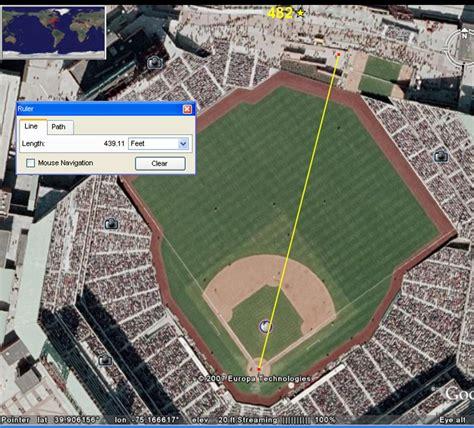 home runs by ballpark baseball fever