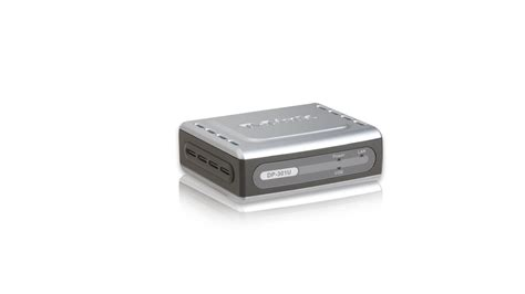 3 print server 10 100 ethernet usb print server dp 301u d link