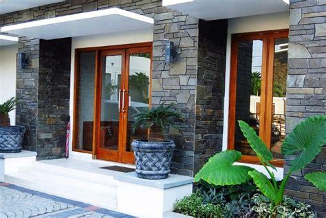 desain dinding depan rumah pakai batu alam 69 desain dinding depan rumah pakai batu alam
