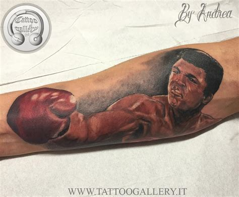 tattoo of ali muhammad ali by andrea tartari tattoonow
