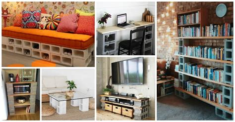 cheap cinder block furniture designs