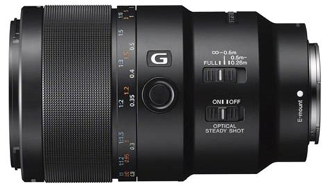 Sony 90mm F 2 8g Oss Macro G Lens sony announces four new frame fe lenses sel35f14z