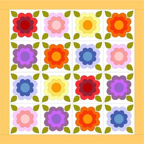 Patio Quilt Pattern Free Free Quilt Pattern Tattered Garden