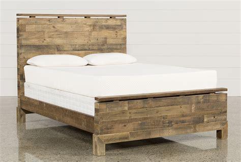 Atticus Eastern King Platform Bed Living Spaces » Home Design 2017