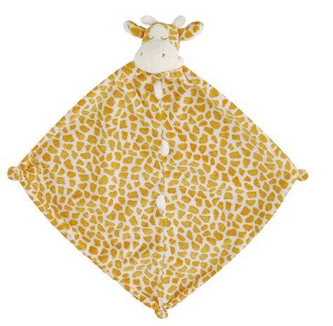 giraffe comfort blanket animal comfort blankie by lush baby notonthehighstreet com