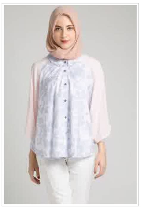desain kemeja muslimah 20 model kemeja wanita modern terbaru 2017 full update 100