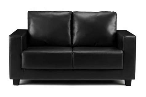 cheap black leather sofa bedworld discount boxa black faux leather sofa review