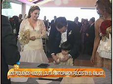 ¡Lolita de la Vega se cae en su boda! - YouTube Novell
