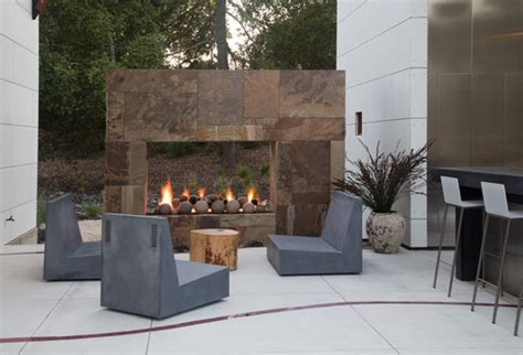 outdoor modern fireplace 10 outdoor pits that will take a backyard from