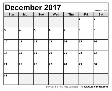 Calendar November 2017 And December 2017 December 2017 Calendar Templates Caleendar