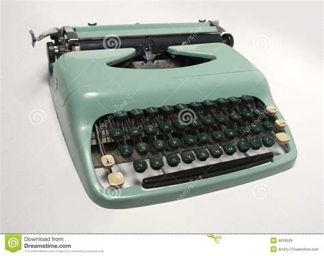 old fashioned typewriter royalty free stock images image