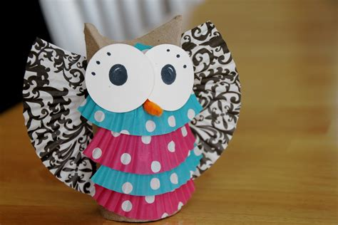 Toilet Paper Owl Craft - coffee chaos and contentment when toilet paper rolls