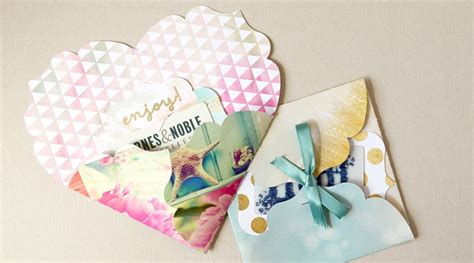 Diy Gift Card Envelope - cricut crafts diy gift card holder and envelope by lia griffith creativebug