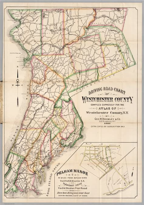 map of westchester ny map of westchester county ny roundtripticket me