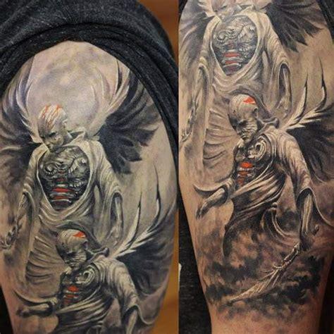 tattoo angel dark dark angels tattoos