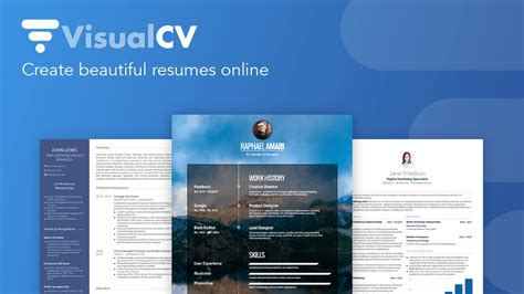 visualcv what you need to