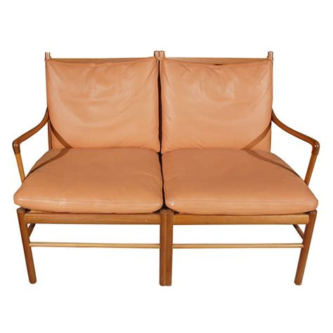 2 seater settee sale ole wanscher two seater settee for sale at 1stdibs