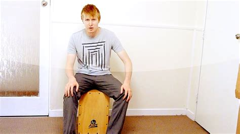 cajon grooves cajon grooves 3 patterns in 6 8 time youtube