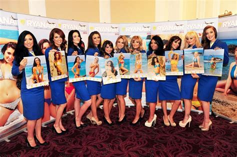 Low Cost Flight Calendar Ryanair Stewardess Calendar 2014 Away With The