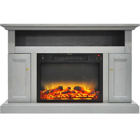 fireplace display hanover kingsford 47 in electric fireplace with an