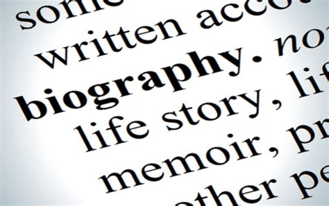 biography text about mother biography