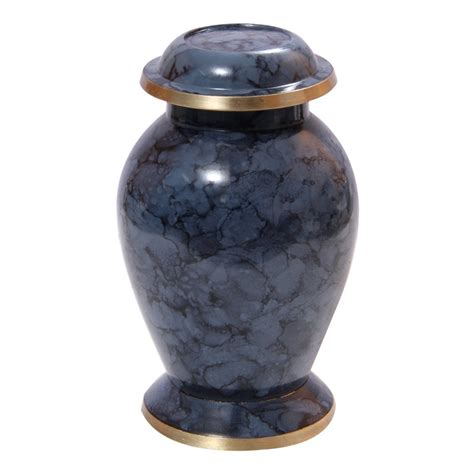 Small Home Urn Personalised Funeral Urns Classic Mulberry Small Memorial