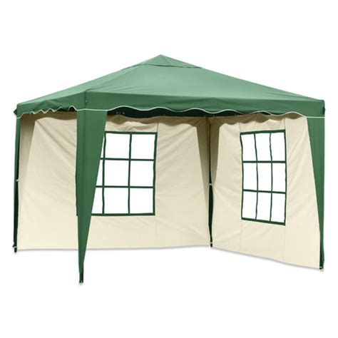 Silvertree Pavillon Set Tim 3 X 3 M Inkl 2 Real