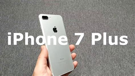 iphone 7 plus review en espa 209 ol analisis y opinion blanco plata silver