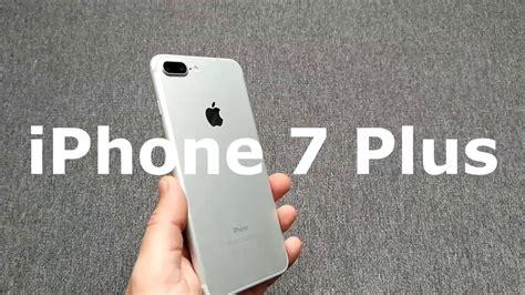 iphone 7 plus review en espa 209 ol analisis y opinion blanco plata silver