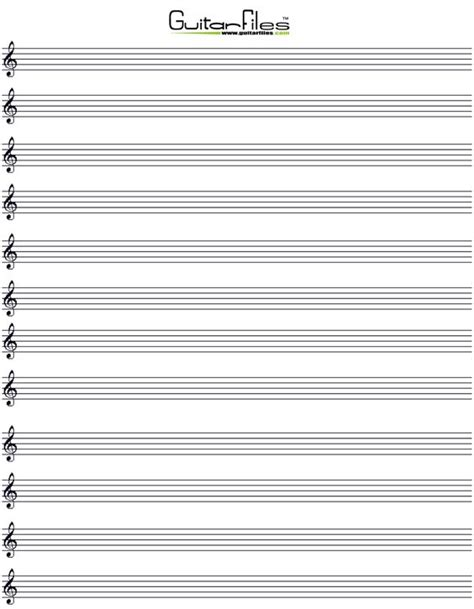 free printable staff paper violin music and paper on pinterest