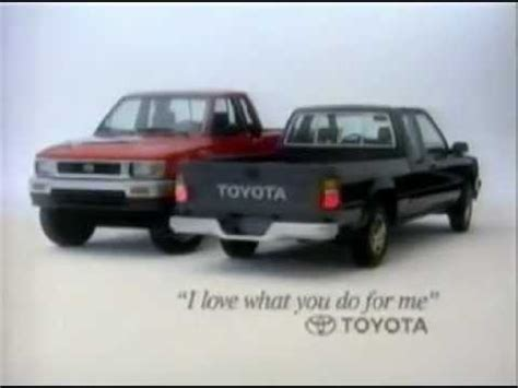 toyota commercial vehicles 1991 toyota trucks commercial youtube