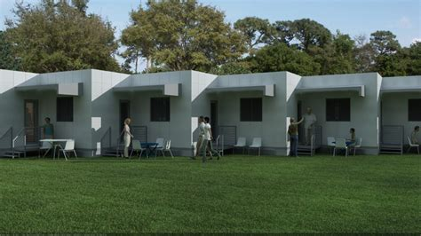 nano house nano rescue house provides flexible emergency housing