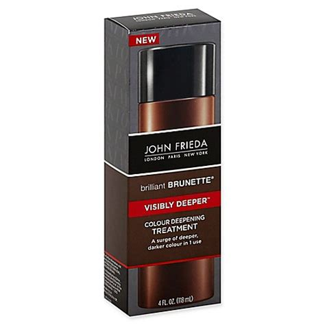 is john frieda morton in revitalizing in hand shoo good for grey hair john frieda brilliant brunette 174 visibly deeper 4 fl oz