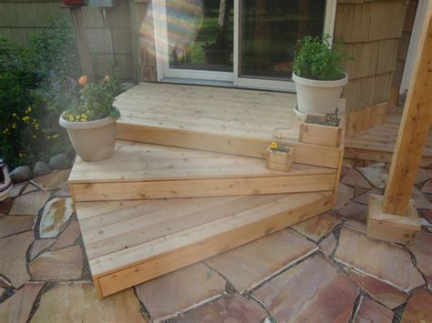 Wood Outdoor Stairs Design Best 25 Outside Steps Ideas On Porch Roof Plans Building A Tiny House And Inside