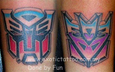 transformer tattoos transformers pitfunfun www exotictatto my