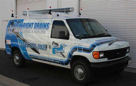 Plumbing Vans by Fleet Graphics By Iconography Orange County