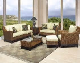 rattan living room set biscayne sofa set living room furniture by boca rattan