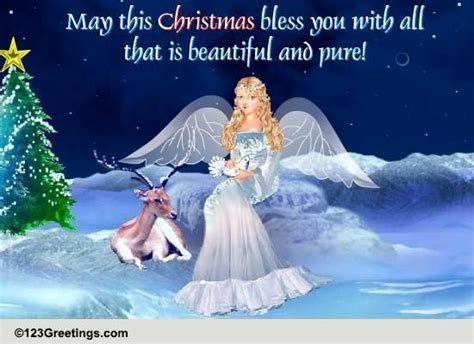 christmas angel cards  christmas angel wishes greeting cards