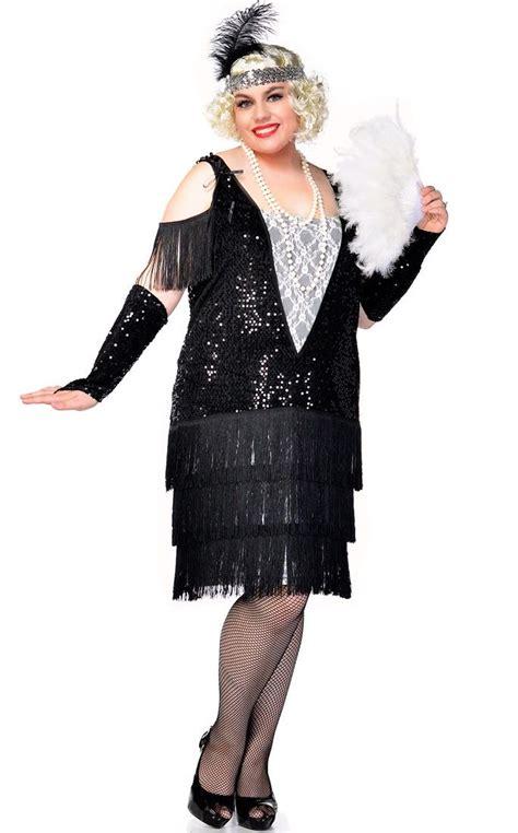 costume flapper flapper roaring costume ideas 1920s era costumes best 25 plus size flapper costume ideas on pinterest