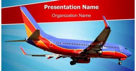 southwest airlines powerpoint template is one of the best