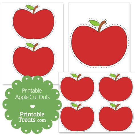apples to apples template card for free printable apple cut outs printable treats