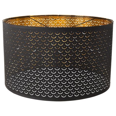 nymoe lamp shade black brass colour ikea