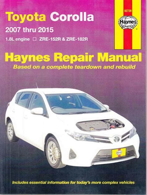 service manual service and repair manuals 2012 toyota rav4 windshield wipe control service toyota corolla 1 8 litre engine zre 152r zre 182r 2007 2015 workshop manual